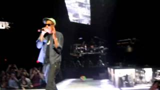 jay z performs 99 problems live sxsw 2012 amex sync show