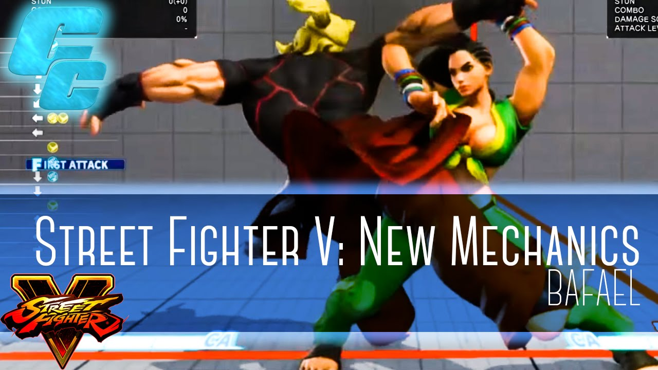 Street Fighter V: New Mechanics Overview ft. Bafael (@Bafael1)