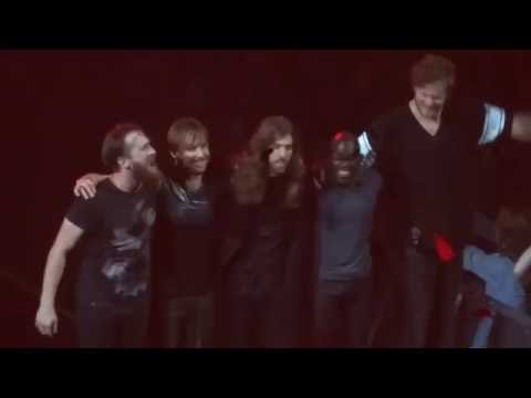 Imagine Dragons Portland encore on Smoke and Mirrors Tour---The Fall--2015-06-03