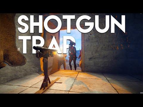 SHOTGUN TRAP BASE - Rust