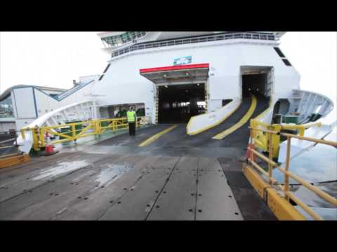 Irish Ferries - Check in and Boarding Process