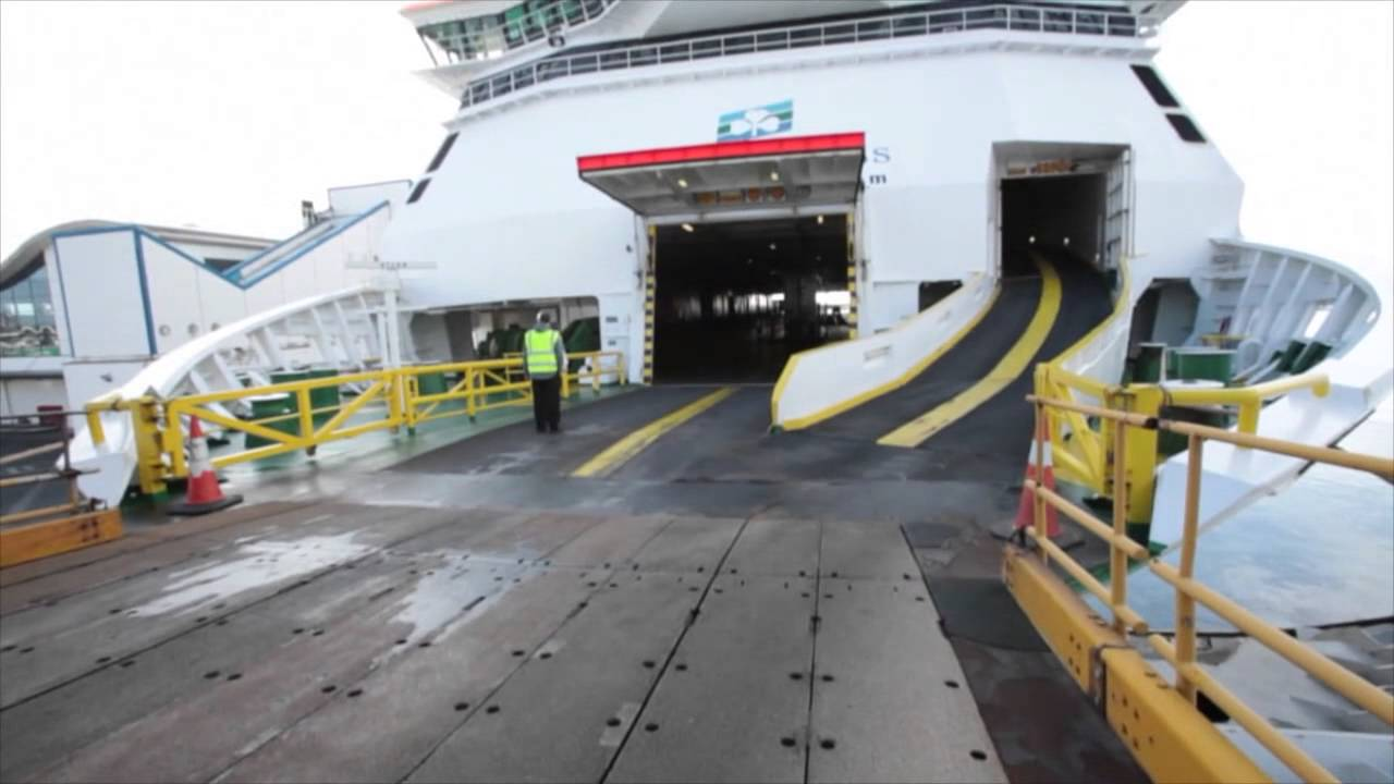 Ferry To Ireland From Holyhead >> Irish Ferries Check In And Boarding Process Youtube