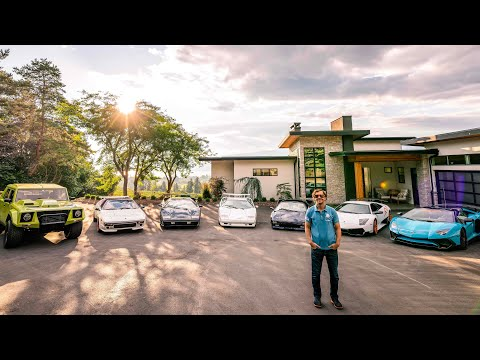 WHO IS RYAN AND WHY DOES HE HAVE 8 LAMBORGHNII'S?