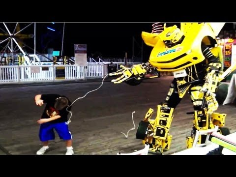 Real Life Transformer on Jersey Shore