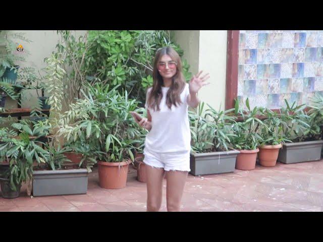 Tara Sutaria Spotted At Bandra