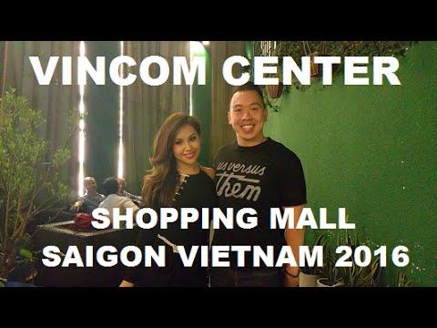 Saigon Shopping Mall Vincom Center Vietnam 2016