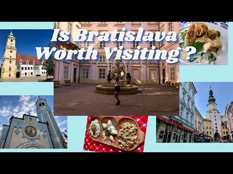 Is Bratislava Worth Visiting? (FREE things to do in Bratislava - Budget Guide)