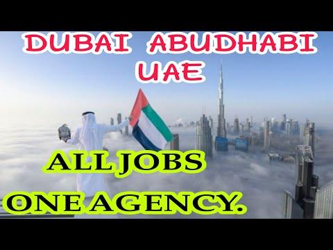 UAE all job vacancy in One Agency 2021 // Dubai jobs // Abud