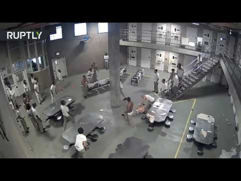 5 injured after wild brawl in America's largest jail
