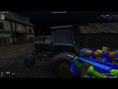 SF - ปืนสไน M200 น้ำแตก!! [WATER M200]