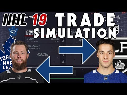 Trade Breakers: NHL 19 Trade Simulation. MUZZIN TO THE LEAFS!