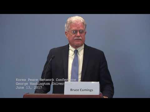 2. Bruce Cumings Keynote, intro from Christine Ahn   Korea Peace Network   June 13, 2017