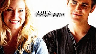 "Stefan & Caroline | ""Love, Stefan. That"