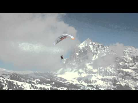 Winter Tandemflights In Grindelwald/Switzerland With Paragliding Jungfrau