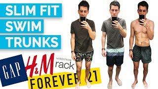 2017 Men's Swim Trunks Try On (H&M, Gap, Forever 21, Ralph Lauren, Hugo Boss, Vans and MORE)