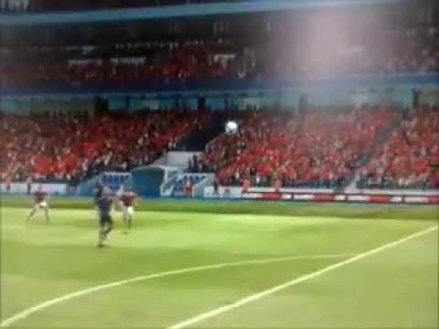 Fifa 2013 : Milan AC - Arsenal : But Insolite de Montolivo