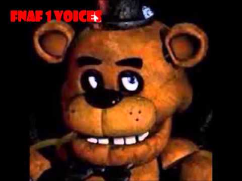 Vozes de todos personagens de fnaf voices for all characters fnaf
