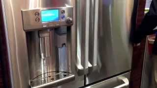 first ever refrigerator coffee maker from ge and keurig
