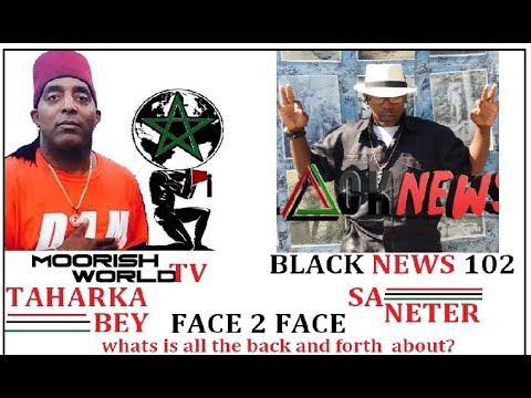 """Saneter Vs Taharka Bey""  Live Together..  Can we work it out work it for the people?"