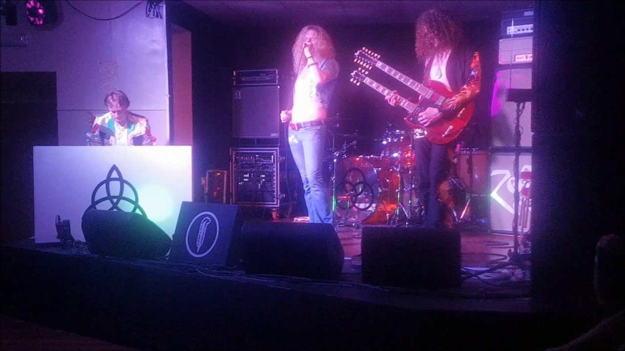 Led Zeppelin Tribute Perform the Song Remains the Same and the Rain Song