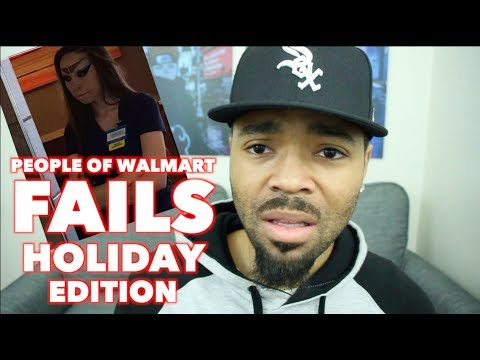 People Of Walmart Fails Holiday Edition