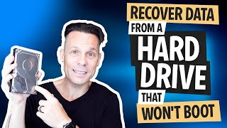 How to Recover Dąta from a Hard Drive that Won't Boot