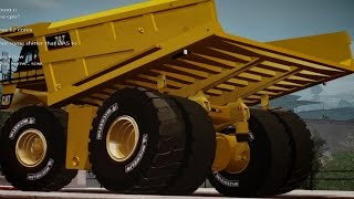 GTA 5 Map mod online + Biggest dumptruck in the world Caterpillar 797