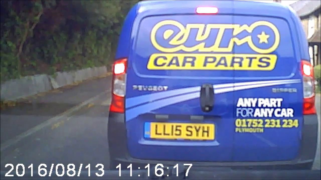 Euro Car Parts Dangerous Driver Reg Ll15 Syh Youtube