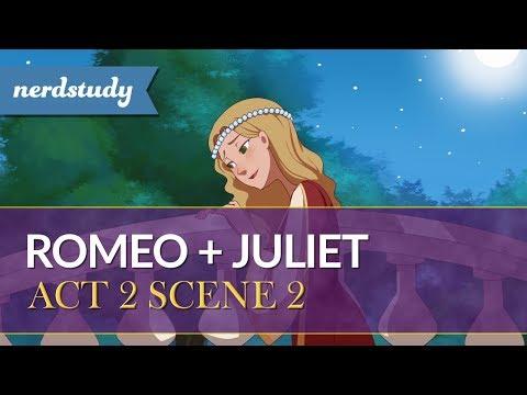 Romeo and Juliet Summary (Act 2 Scene 2) - Nerdstudy