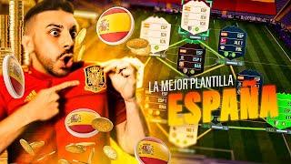LA MEJOR PLANTILLA de ESPAÑA en el FIFA !!!!