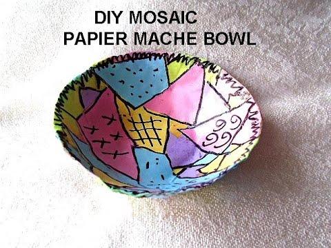 Faux Leather Book Cover - Tissue Paper Technique