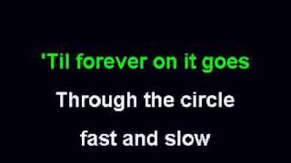 YouTube CCR Have you ever seen the rain karaoke