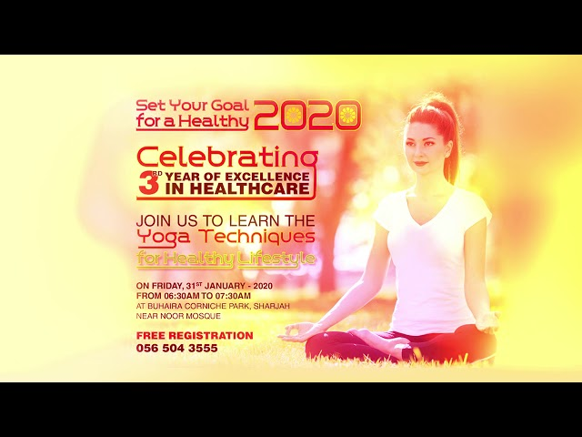 Set your goal forHEALTHY 2020