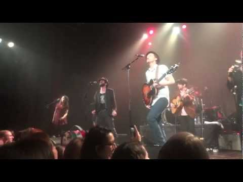 The Lumineers - American Music (Violent Femmes cover) - Live @ Le Trianon - 07-03-2013