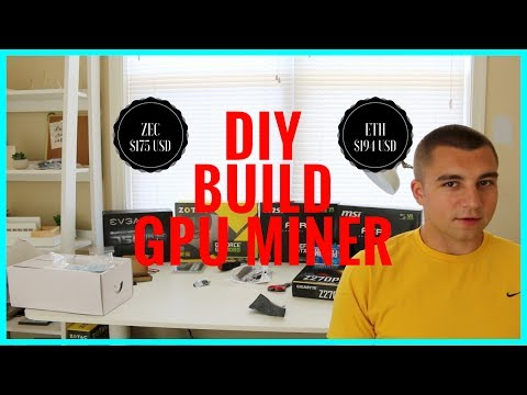 How To Build The Best DIY GPU Mining Rig + NvOC -