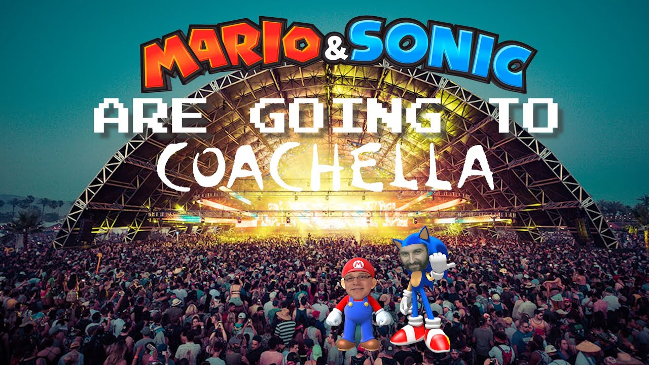 Gaming Cult Podcast Fan Fiction Theater - Mario and Sonic Are Going to Coachella
