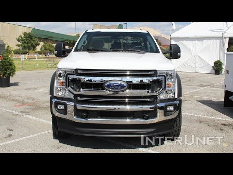 2020 Ford F-600 XLT Super Duty 7.3L V8 Commercial Truck Chassis Cab
