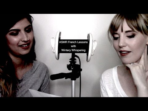 Binaural ASMR French Lessons with Wintery Whispering