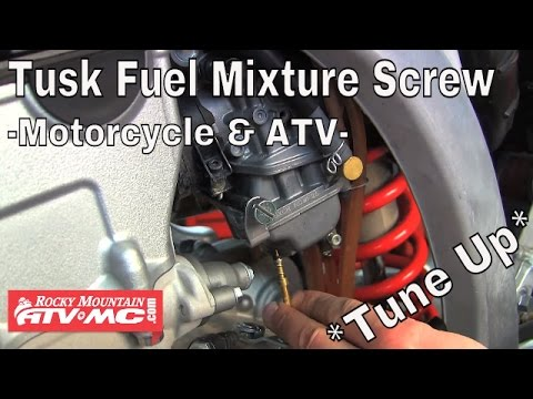 Tusk Fuel Mixture Screw Installation & Tuning - Motorcycle & ATV