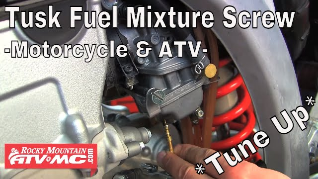 Setting Air Fuel And Idle On  Suzuki Ltz
