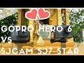 Gopro hero 6 Vs Sjcam SJ7 star, 400€ les separe mais vous allez etre surpris !