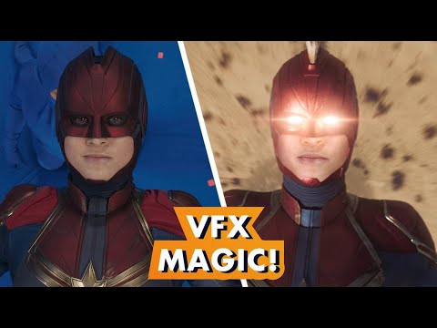 Marvel Studios' 'Captain Marvel' Visual Effects Magic | Earth's Mightiest Show