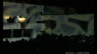 VideoMapping  inaguracion teatro infanta leonor  jaen  ARTQUITECT PROJECTION BY