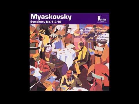 Nikolai Myaskovsky : Symphony No. 1 in C minor Op. 3 (1908 rev. 1921)