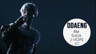 Video BTS RM, SUGA, J-HOPE - DDAENG (땡) 8D USE HEADPHONE] 🎧 download MP3, 3GP, MP4, WEBM, AVI, FLV Juni 2018