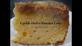 Upside Down Banana  cake (With subtitles)