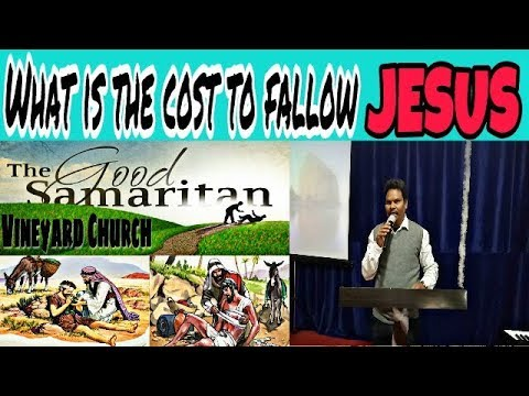 #What is the cost to fallow Jesus
