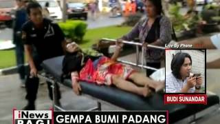 Live By Phone : Terkait Gempa Bumi Mengguncang Kota Padang - INews Pagi 02/06