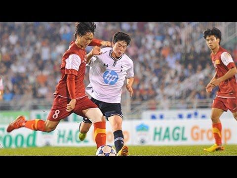 Highlights: U19 Việt Nam 2-3 U19 Tottenham Hotspur (U19 Quốc tế - Cúp Nutifood 2014) - 10/01/2014