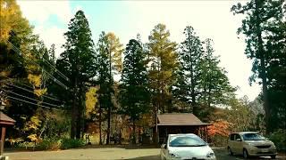 2017 10 28青森県むつ市川内村 かわうち湖までの紅葉ドライブ thumbnail